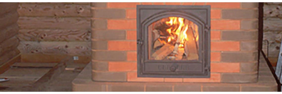 Fire-place firedoors